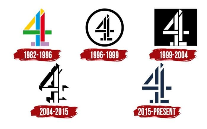 Channel 4 Logo History