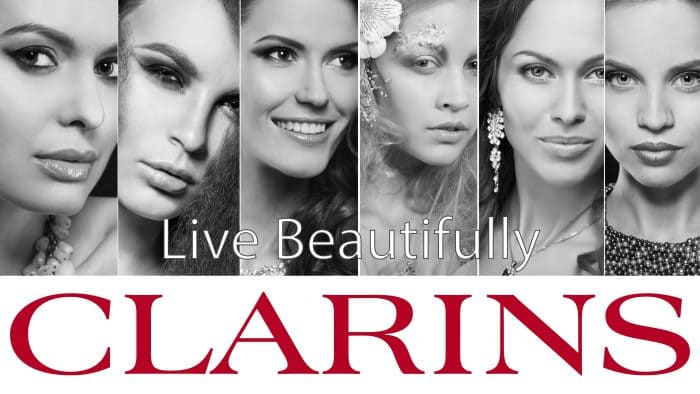 Clarins' new Live Beautifully campaign