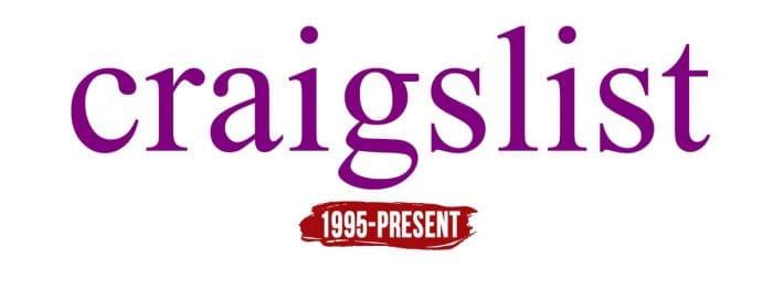 Craigslist Logo History