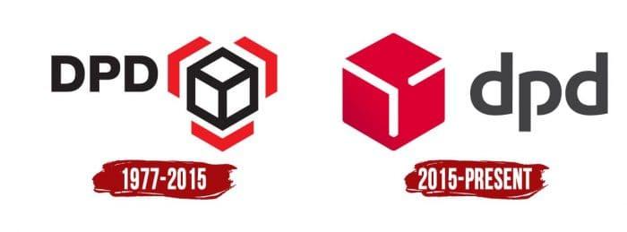 DPD Logo History