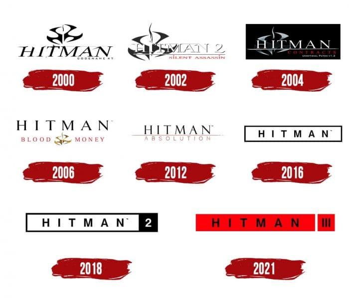 Hitman Logo History