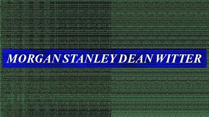 Morgan Stanley Dean Witter Logo 1997-2000