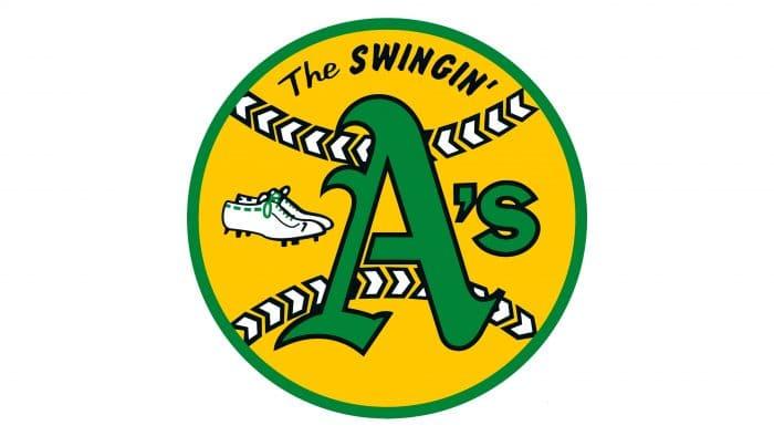 Oakland Athletics primary logo 1971-1981