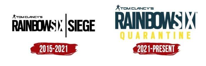 Rainbow Six Logo History