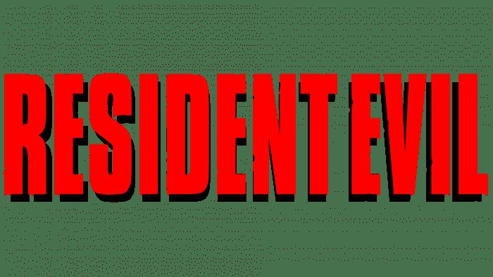 Resident Evil Logo 1996