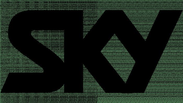 Sky Logo 1984-1989