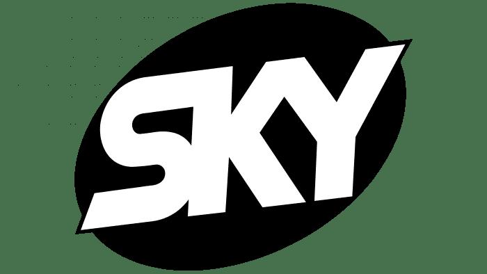 Sky Logo 1997-1998