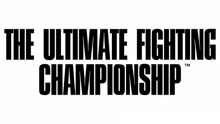 Ultimate Fighting Championship Logo 1993-1999