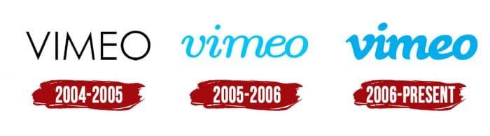 Vimeo Logo History