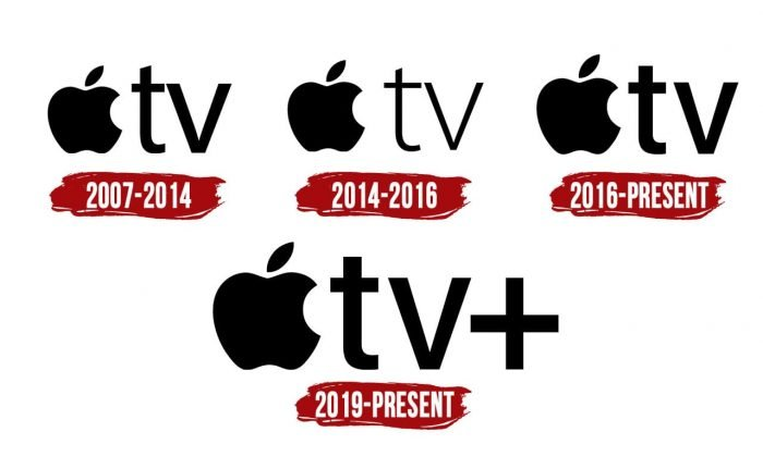 Apple TV Logo History