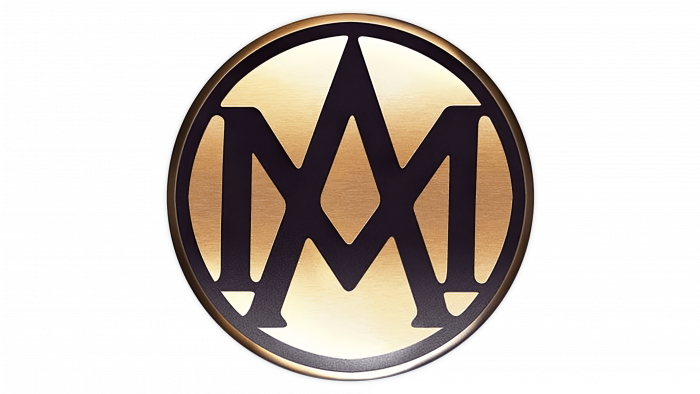 Aston Martin Logo 1921-1926