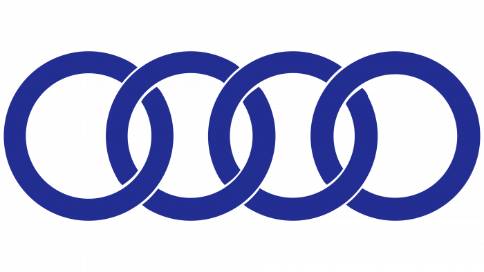 Audi Logo 1969-1995