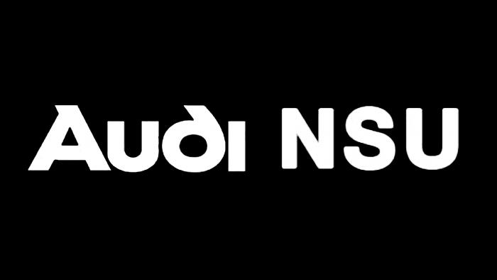 Audi NSU Logo 1969
