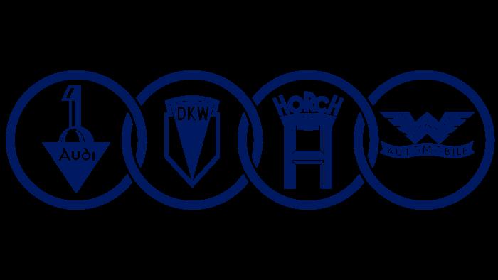 Auto Union Logo 1932-1949