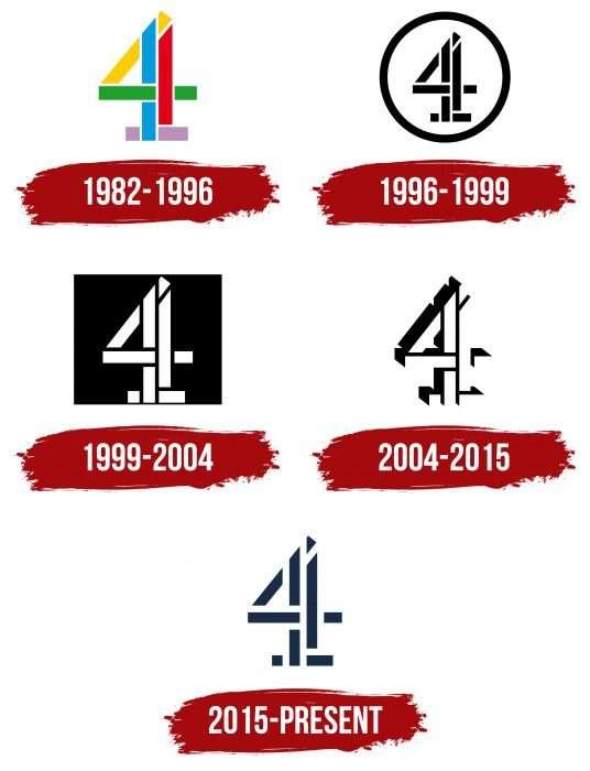 Channel 4 Logo History