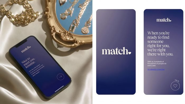 Collins new logo design dating site Match