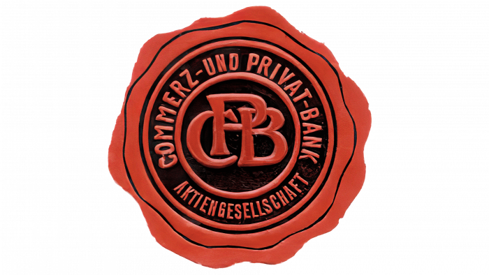 Commerz Privat-Bank Logo 1920-1957