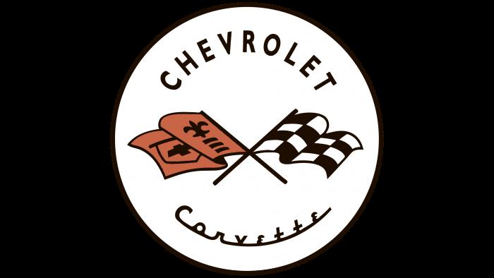 Corvette Logo 1953-1955