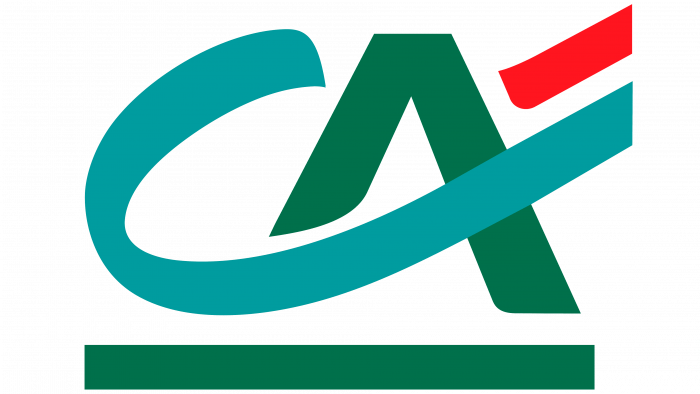 Credit Agricole Logo 1987-present