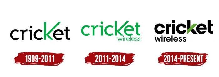 Cricket Wireless Logo History