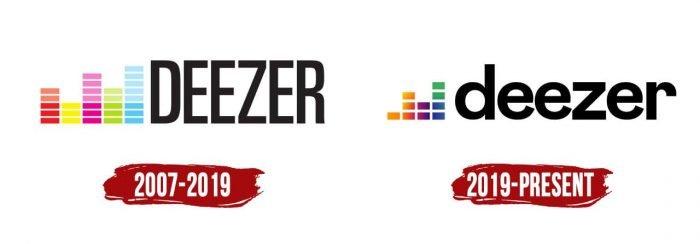 Deezer Logo History