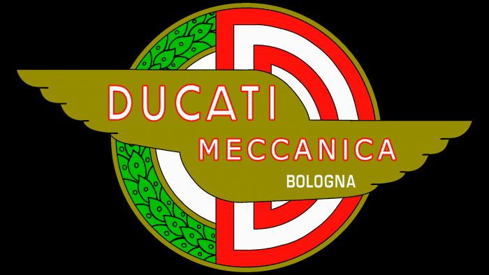 Ducati Logo 1958-1959