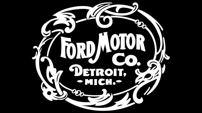 Ford Logo 1903-1907