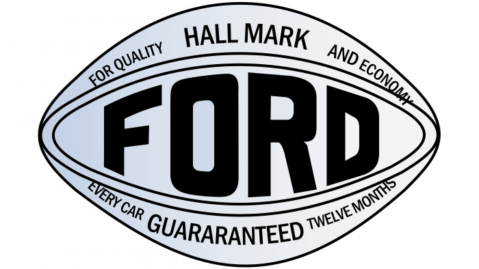 Ford Logo 1907-1909