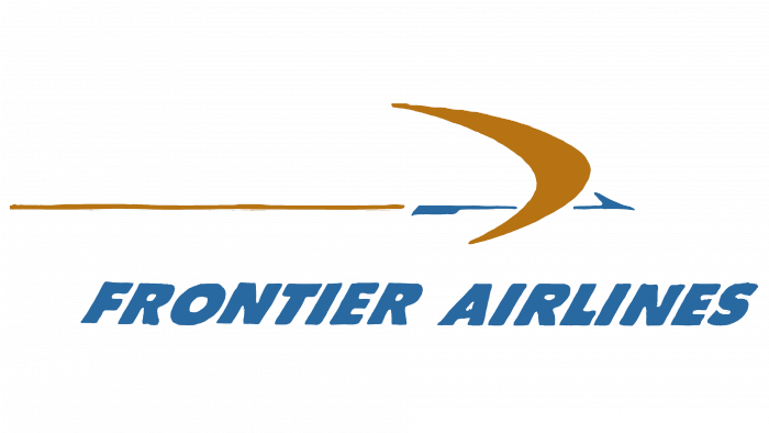 Frontier Airlines Logo 1958-1972