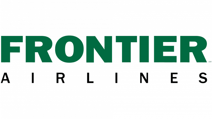 Frontier Airlines Logo 2001-2014