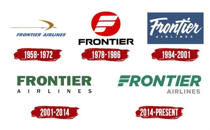 Frontier Airlines Logo History