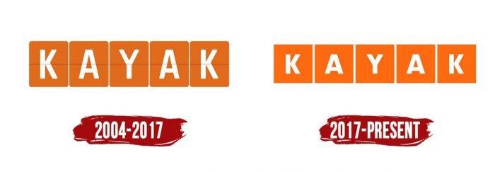 Kayak Logo History