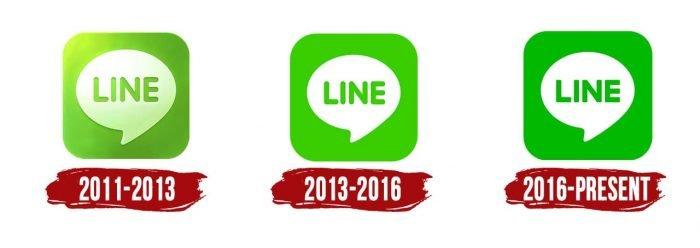 Line Logo History