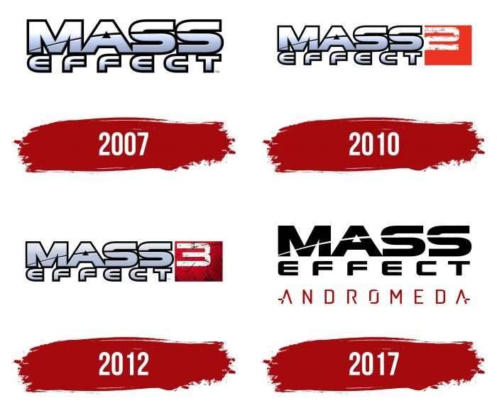 Mass Effect Logo History