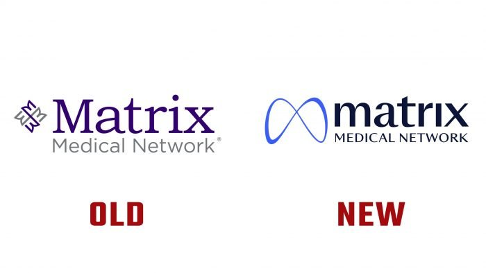 Matrix Medical Network New and Old Logo