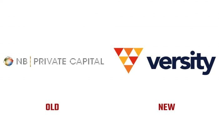 NB Private Capital and Versity Investments New and Old Logo