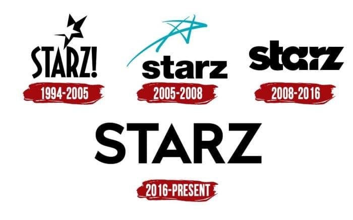 Starz Logo History