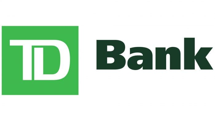 TD (Toronto-Dominion) Bank Logo 2009-present