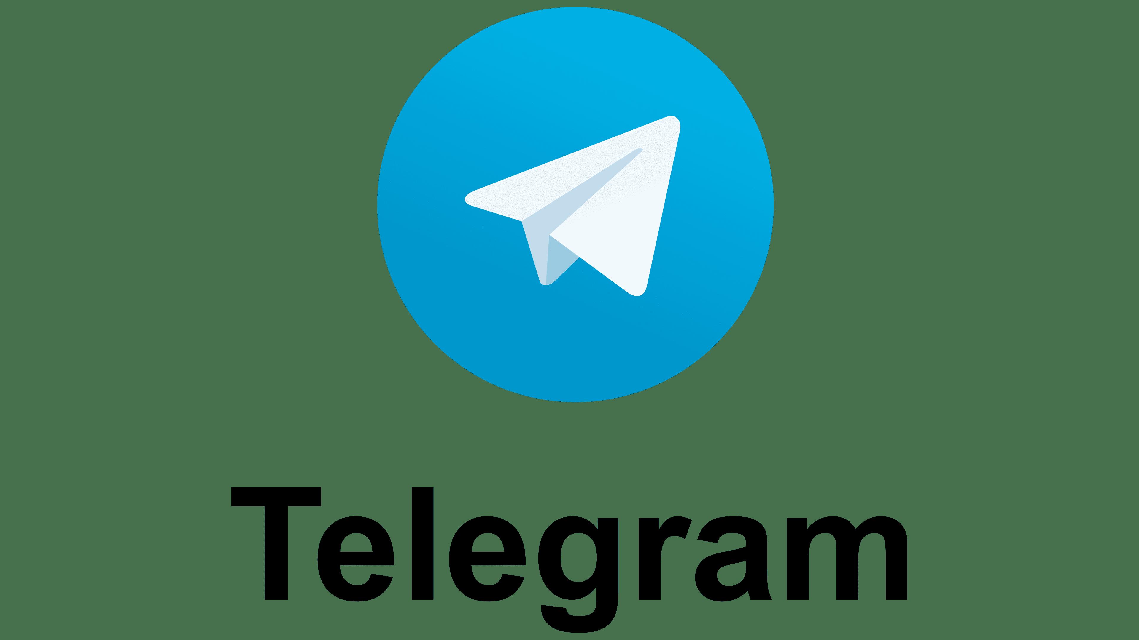 Telegram Logo Symbol History Png 3840 2160