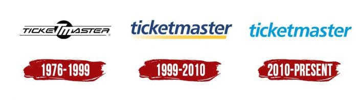 Ticketmaster Logo History