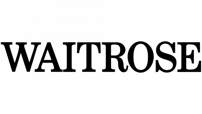 Waitrose Logo 1987-2004
