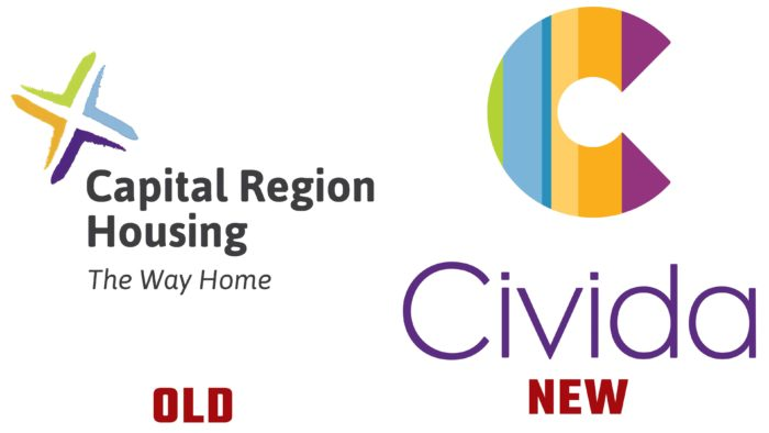 Civida New and Old Logo (History)