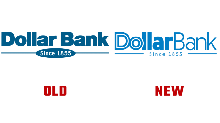Dollar Bank Old and New Logo (History)