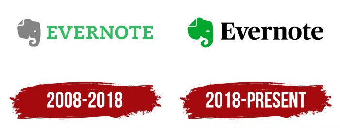 Evernote Logo History