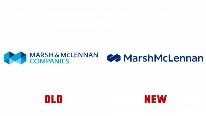 Marsh and McLennan Old and New Logo