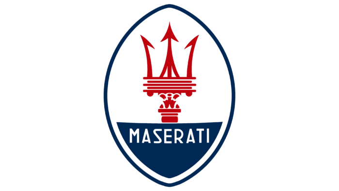 Maserati Logo 1954-1983
