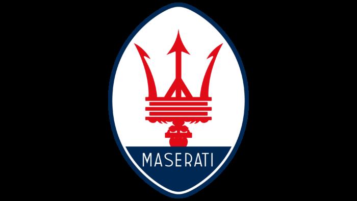 Maserati Logo 1985-1997