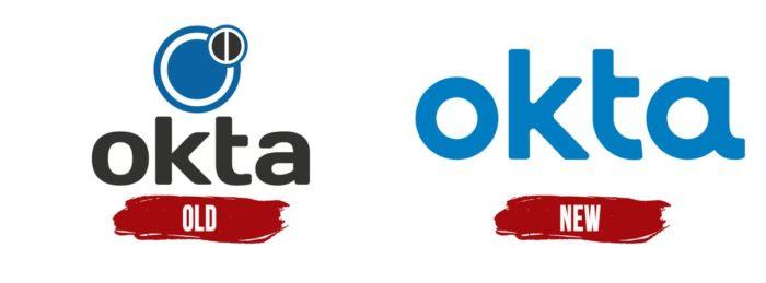 Okta Logo History