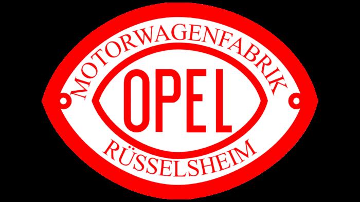 Opel Logo 1902-1906