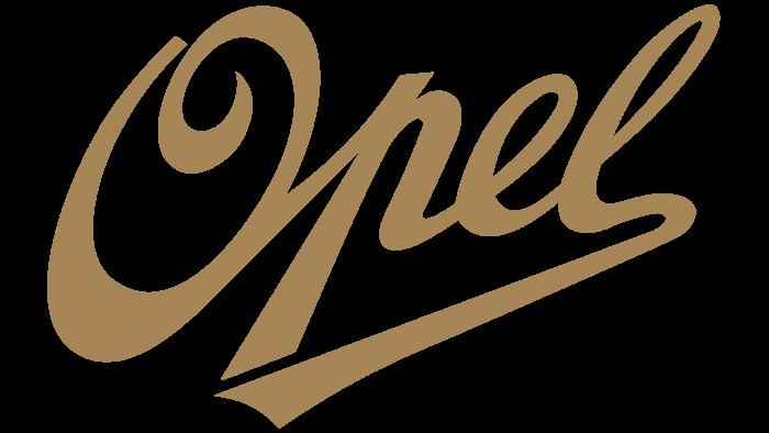 Opel Logo 1909-1910